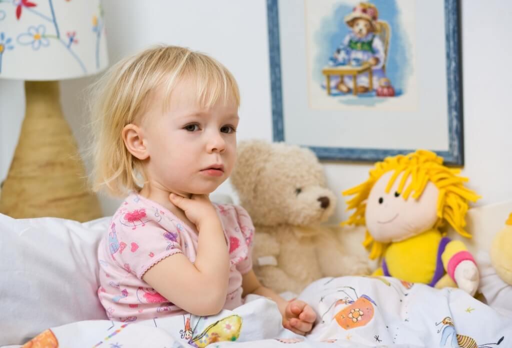 Гортанный кашель у ребенка