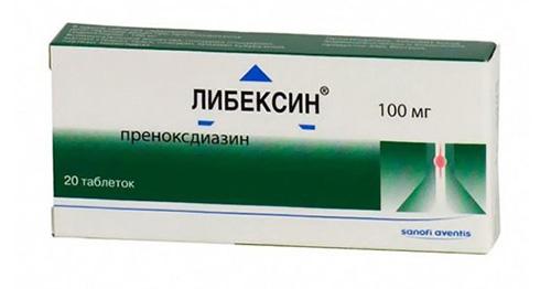 либексин инструкция по применению таблетки