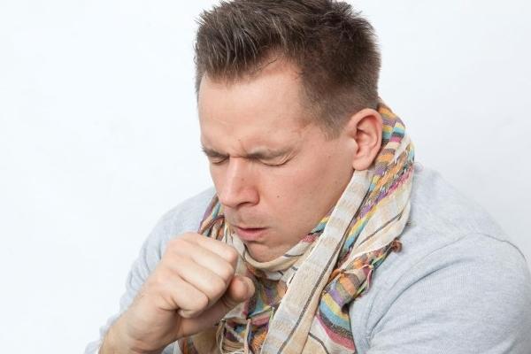 Острый кашель