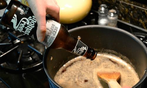 Пиво, кастрюля
