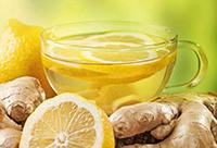 Имбирь, лимон, кружка