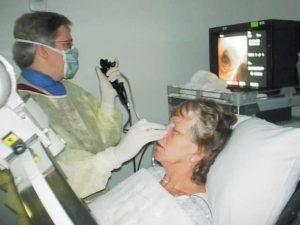 Фибробронхоскопия