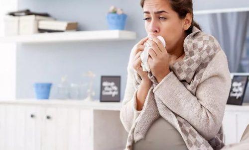 Беременность, кашель