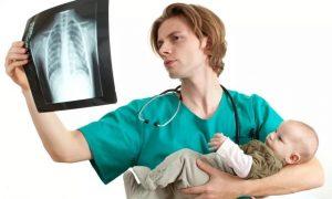 Рентген, грудничок, врач