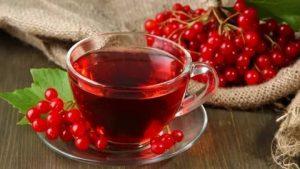 Калина, чай