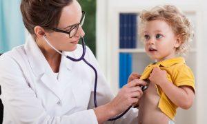 Прием, врач, ребенок