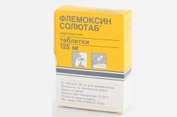 «Флемоксин Солютаб» при лечении зуда в ушах
