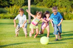 Игры для детей на свежем воздухе