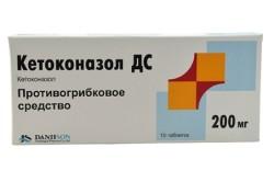 «Кетоконазол» для лечения зуда в ушах