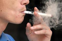 Курение - причина отита