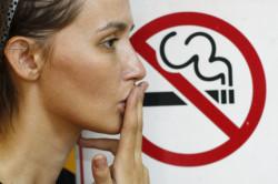 Отит в следствии пассивного курения