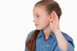Снижение слуха - симптом серозного отита