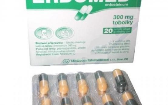Особые указания по применению таблеток Эрдомед