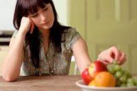 Отсутствие аппетита