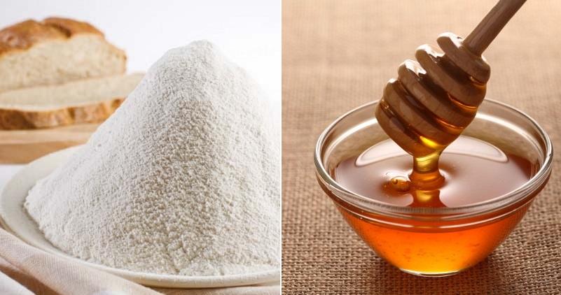 Мед и мука