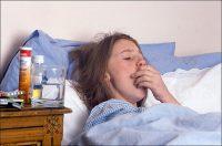 Девушка больна