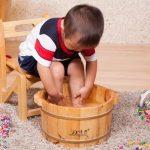 Парить ноги с горчицей при кашле ребёнку