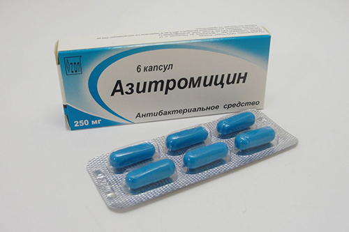 Азитромицин, таблетки
