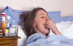 Кашель, больница