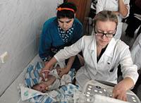 Ребенок, врачи, мама