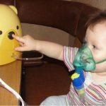 Ингаляции при пневмонии небулайзером