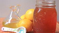 Мед, апельсин, графин