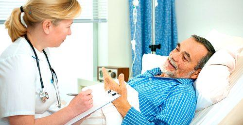 Пациент, врач, больница