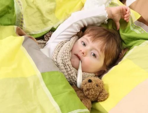 Ребенок, температура
