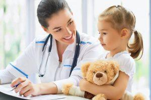 врач, ребенок