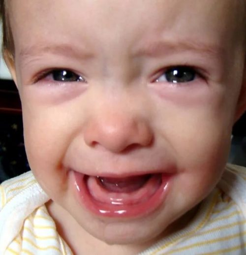 Ребенок, растут зубы