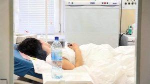 Женщина, больница