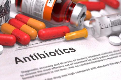 Лечение антибиотиками