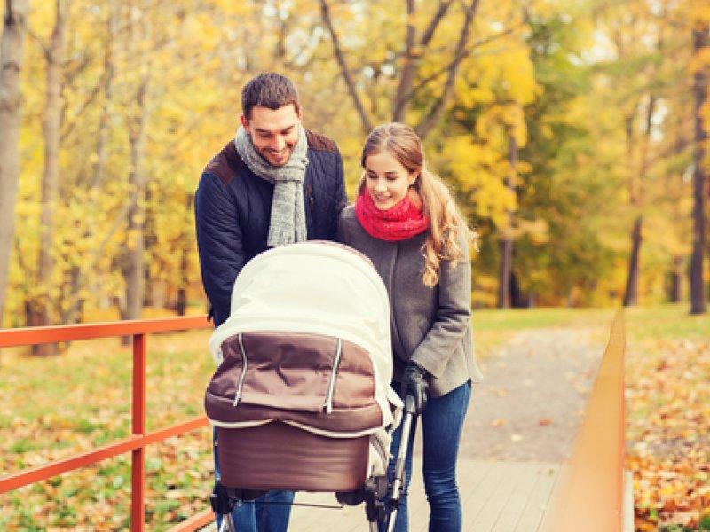 Прогулки с новорождённым